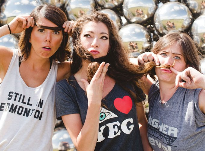A Q&A with Edmonton's All-Female Sketch Comedy Group, Girl Brain