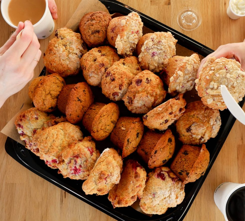 Best Things to Eat: Iced Coffee and Scone from District Cafe & Bakery