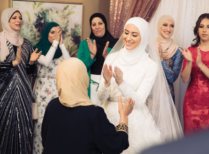 Wedad Amiri's Traditional Lebanese Wedding Day Attire