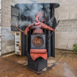 "The Story Behind Ryan McCourt's ""Hot Ganesha"" Sculpture"