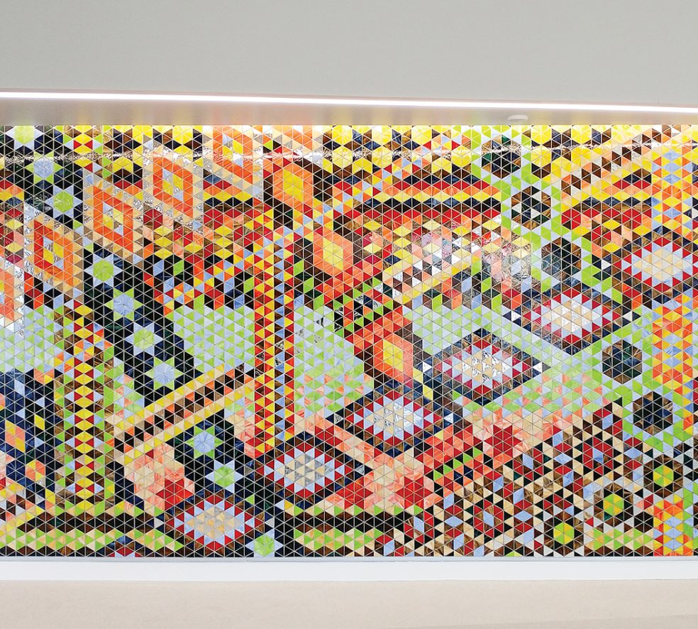 The Story Behind Calder Library's Colourful Mosaic