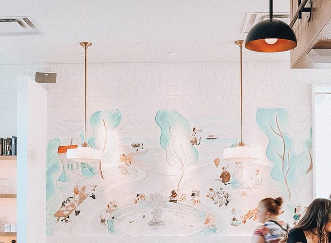 Conversation Piece: The Mural at Wilfred's