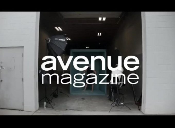 Behind the Scenes of the Final Avenue Photoshoot