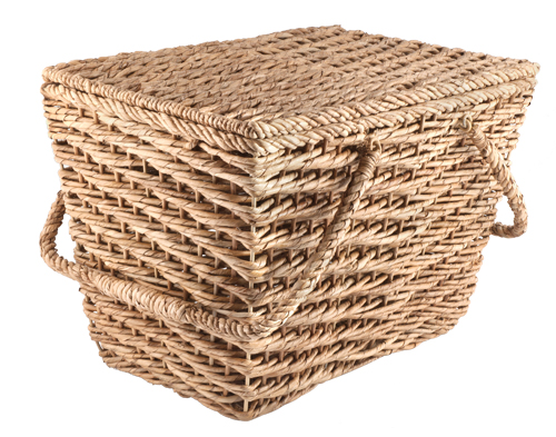 Pack all your alfresco fixings in the rattan-wicker Ventana picnic basket ($49.95), available at Crate and Barrel. (Southgate Centre, 50 Avenue and 111 Street, 780-436-1454)