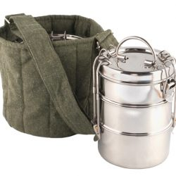 Made from lightweight stainless steel, To-Go Ware's tiffin food carriers make toting your meals a real picnic. The carriers (starting at $28.50) and bag ($23.95) are available at Carbon Environmental Boutique. (10184 104 St., 780-498-1900)