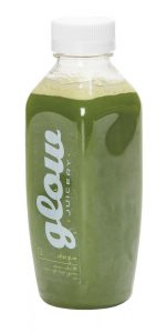 After Glow juice, $8.40, from Glow Juicery. (208 Sioux Rd., Sherwood Park, 780-464-5355)