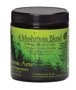 Six mushroom blend powder, $24, from Health Elective Vitamin. (8135 102 St.,780-437-6720)
