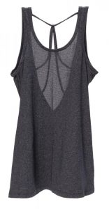 Beyond Yoga low v-back tank, $68, from Elevate Activewear. (12515 102 Ave., 780-455-6843)