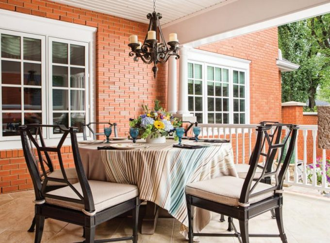 New Patio With an Old-World Feel