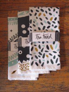 Tea towels by Victoria Wiercinski