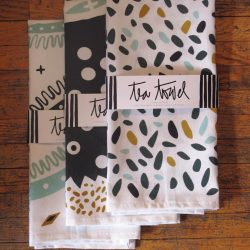 Tea towels by Victoria Wiercinski