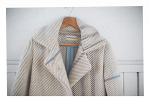 Woven fabric by Jessica Fern Facette for Malorie Urbanovitch