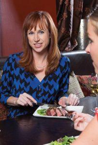 Jennifer Crosby at Tzin Wine and Tapas