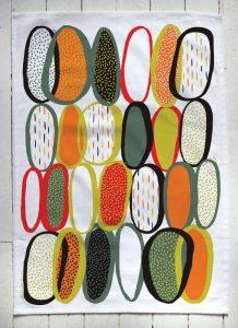 Tea towel by Victoria Wiercinski