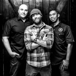 Proprietors of Rostizado: Dani Braun, Chris Sills and Edgar Gutierrez