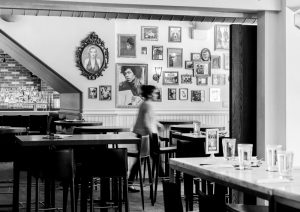 The Common's dining room