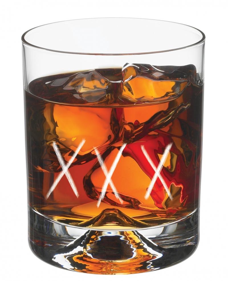 Rum in a glass