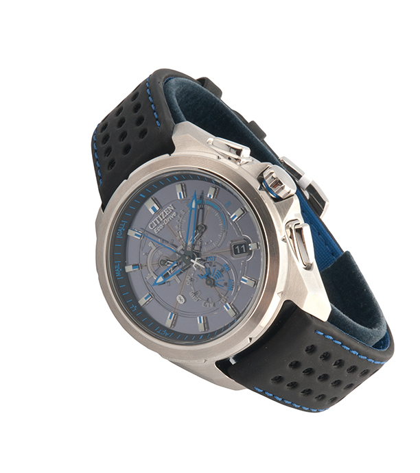 Citizen Eco-Drive Proximity Atomic timekeeping watch, $550, from Boulevard Diamonds (10200 102 Ave., 780-756-1230)
