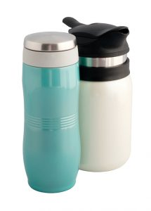 Java Thé insulated bottle with infuser, $29.95, and6. Majestica vacuum coffee and tea maker, $44.50, fromTea Desire (10200 102 Ave., 780-429-0321)