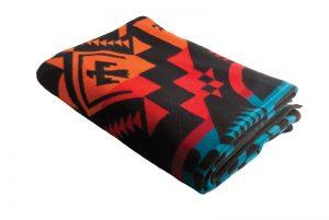 PWN Legendary Row blanket, $275, from gravitypope Tailored Goods (8222 Gateway Blvd, 780-988-1637)