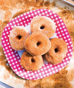 Cinnamon and Sugar Doughnuts at Bliss Baked Goods