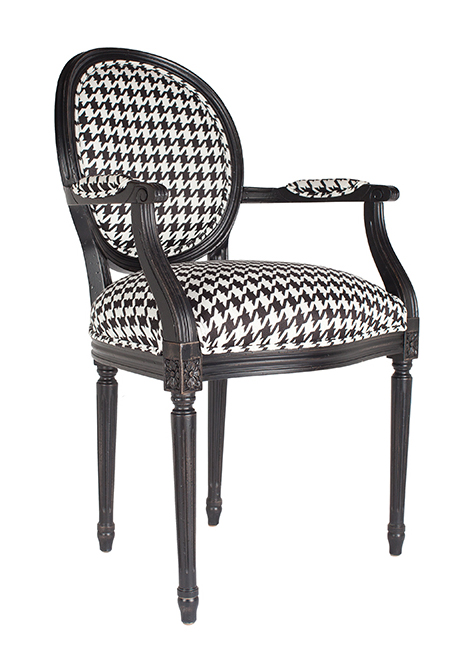 Josephine armchair, $1,169, from Ethan Allen. (10507 109 St., 780-444-8855)