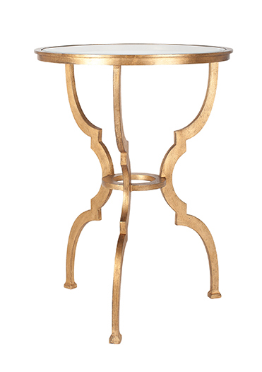 Belle accent table, $489, from Ethan Allen. (10507 109 St., 780-444-8855)