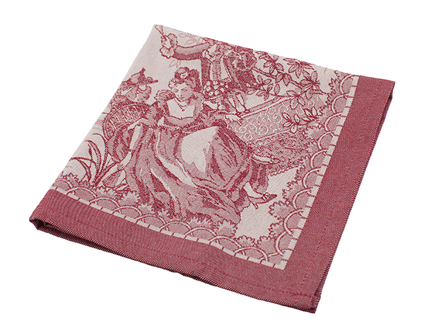 Les Tissages du Soleil Versailles napkins, set of six for $56.99, from C C on Whyte. (5040 104A St., 780-432-1785)