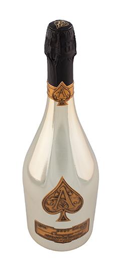 Armand de Brignac Brut champagne, $329.99, from Liquid Harvest Fine Wine, Spirits & Ales. (101 Riel Dr., 780-651-7366)