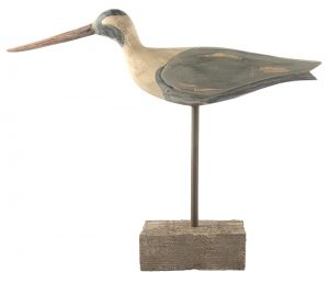 Decorative bird on stand, $25, from Laurel's on Whyte (8210 104 St., 780-431-0738)