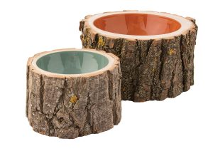 Edmonton-made log bowls, $128 and $158, from Loyal Loot.