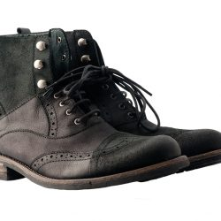 Tacioblack leather boots by Dkode, $250, from Wener Shoes.
