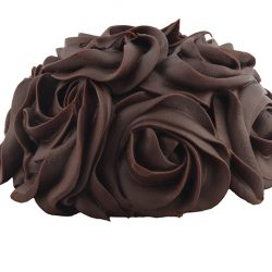 Chocolate fleur cake, $8, from Dauphine Bakery and Bistro.