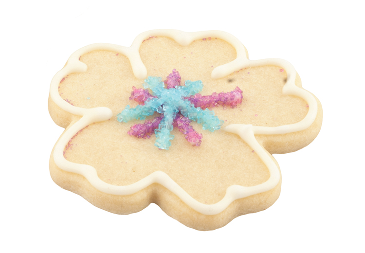 Sugar cookie, $2, from Dauphine Bakery and Bistro.(10129 104 St., 780-421-4410)