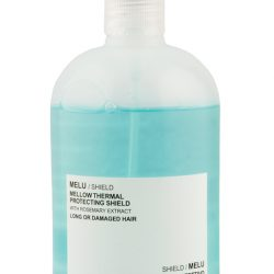 Davines Melu Shield Mellow Thermal Protecting Shield spray, $36, from Blunt Salon. (10142 104 St., 780-498-1899)