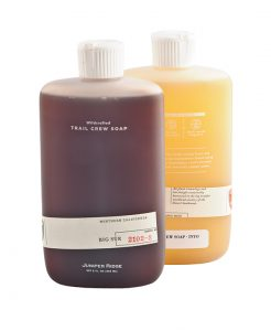 Juniper Ridge Trail Crew soap,$35, from Carbon Environmental Boutique (10184 104 St., 780-498-1900)