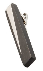 . Vitality tie clip, $59, from Derks.