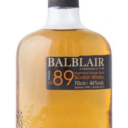 Balblair 1989 single malt Scotch whisky, $138.99, from deVine Wines and Spirits. (10111 104 St., 780-421-9463)