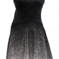 Free People ombre lace black foil dress, $109, from The Bamboo Ballroom. (8206 104 St., 780-439-1363)