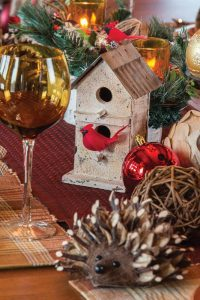 Lindie Fleissner describes her hand-crafted holiday decor as
