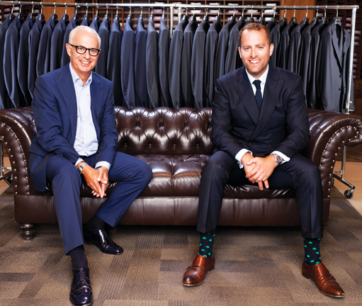 Style Q&A: Fred and Jordan Singer