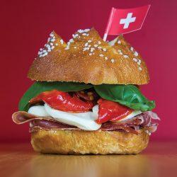 The Italian Bride Sandwich at Swiss 2 Go