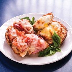 Breakfast Bagel at Zenari's