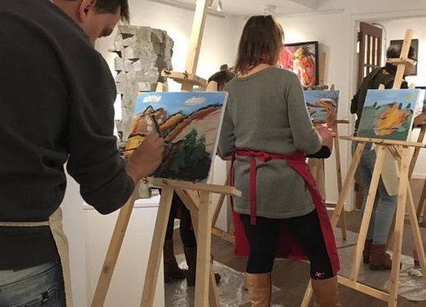 Paint Nights at the Lotus Art Gallery