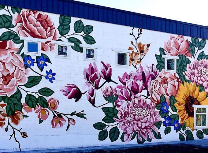 Floral Walls Keep Blooming