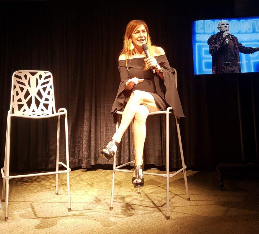 Marina Sirtis Kicks off Edmonton Expo Weekend