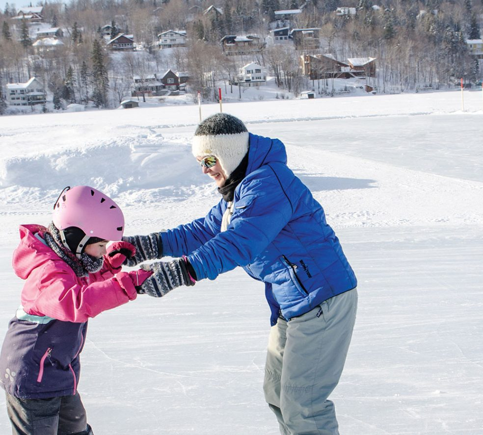 The Best Places to Sled and Skate in Edmonton This Season