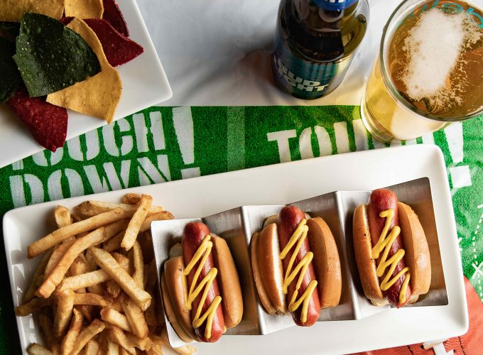Game Day Bite: Nathan's Famous Hot Dog Sliders