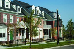 Townhomes in Griesbach.