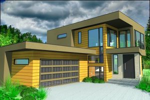 Jared Smith and his family will move into this Larch Park home in spring, 2012.